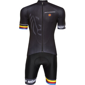 Bioracer Van Vlaanderen Pro Race Clothing Set Men, black